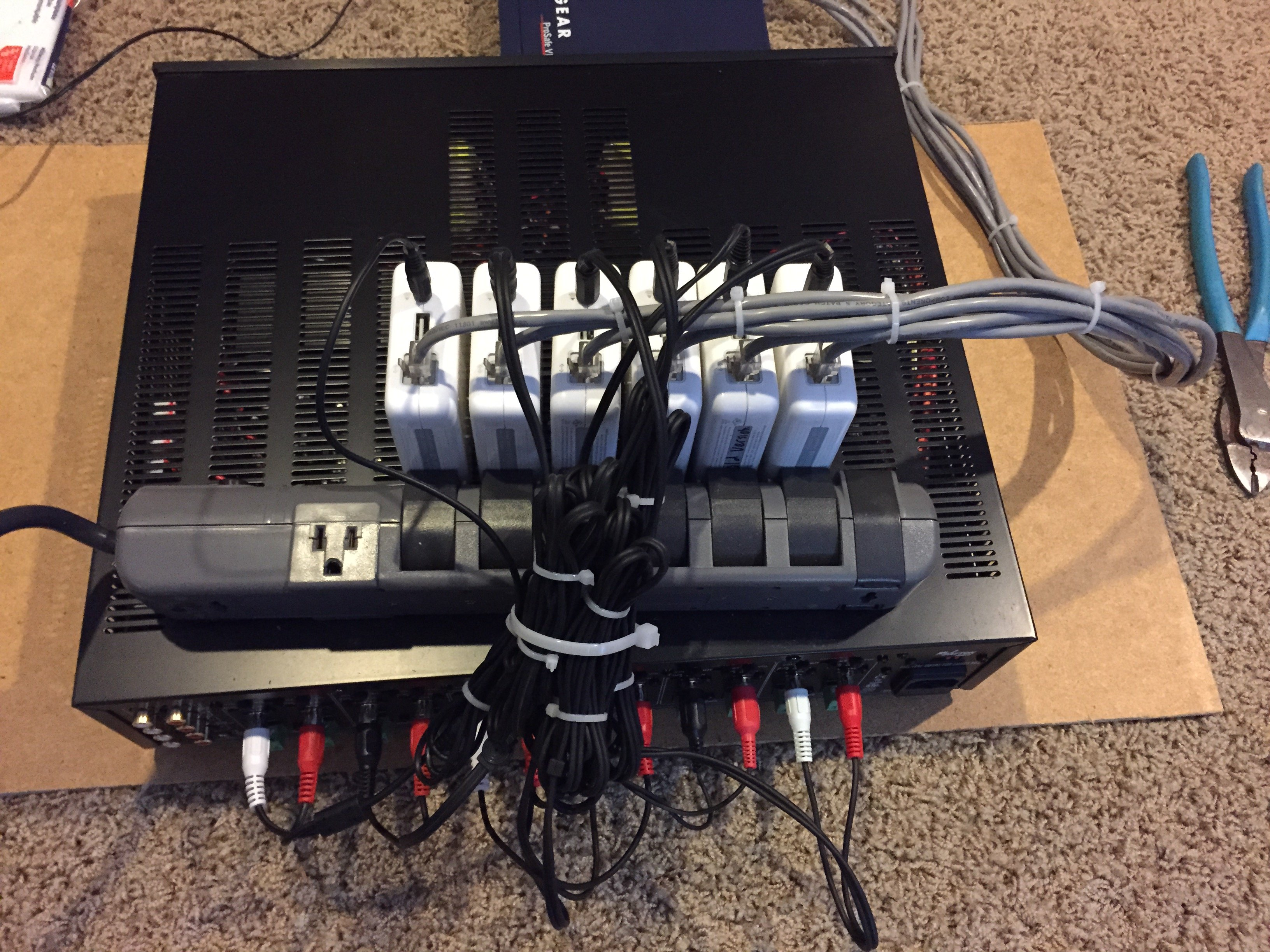 Apple Airplay Multi Room Setup 6 Zones Airport Express Wiring Home Audio Equipment